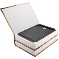 Barska CB12470 7 1/2 inch x 3 1/2 inch x 10 1/2 inch Paris and London Dual Book Steel Security Box with Key Lock