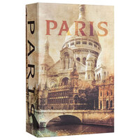 Barska CB12362 4 1/2 inch x 2 inch x 7 1/4 inch Paris Book Steel Security Box with Combination Lock
