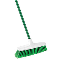 Libman 1140 13 inch Housekeeper Smooth Sweep Push Broom - 4/Pack