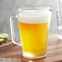 Acopa 60 oz. Glass Beer Pitcher - 6/Case