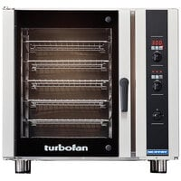 Moffat E35D6-26-P Turbofan Single Deck Full Size Electric Convection Oven with Digital Controls - 208V, 1 Phase, 11.2 kW