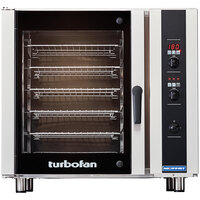 Moffat E35D6-26-P Turbofan Single Deck Full Size Electric Convection Oven with Digital Controls - 208V, 3 Phase, 11.2 kW