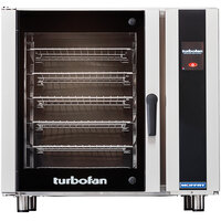 Moffat E35T6-26-P Turbofan Single Deck Full Size Electric Convection Oven with Touch Screen Controls - 208V, 3 Phase, 11.2 kW