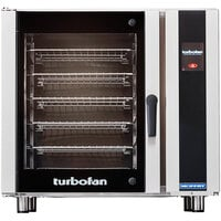 Moffat E35T6-26-P Turbofan Single Deck Full Size Electric Convection Oven with Touch Screen Controls - 208V, 1 Phase, 11.2 kW