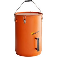 Fryclone 6 Gallon Orange Utility Oil Pail