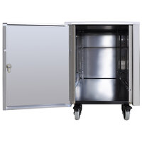 Spaceman CART550 Stainless Steel Cart with Storage Cabinet for Countertop Machines