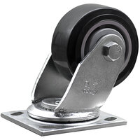 Lavex Industrial 4 inch x 2 inch Swivel Plate Caster for Lavex Industrial Tilt Trucks