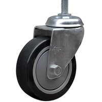 Lavex Industrial 4 inch x 1 1/4 inch Swivel Stem Caster for Lavex Industrial Tilt Trucks