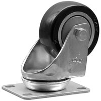 Lavex Industrial 3 inch x 1 1/4 inch Swivel Plate Caster for Lavex Industrial Tilt Trucks