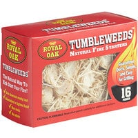 Royal Oak Tumbleweeds Natural Fire Starters   - 16/Pack