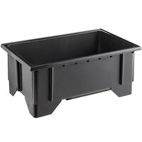 Vollrath 17533-2 12 inch x 20 inch Black Plastic Machined Well with Open Drain