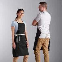 Details about  /Restaurant Kitchen Professional Bib Apron With Pocket Halter Sleeveless BN