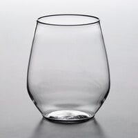 Acopa Endure 15 oz. TRITAN® Plastic Stemless Wine Glass - 12/Pack