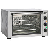 Equipex FC33/1 Tempest Quarter Size 3 Pan Countertop Convection / Broiler Oven - 120V, 1700W