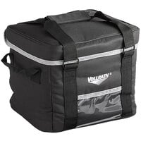 Vollrath VDBS106 1-Series Small Insulated Cooler / Catering Bag with 6-Compartment Divider - Holds (6) Large Beverages