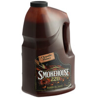 Smokehouse 220 1 Gallon Chipotle Honey Barbecue Sauce - 2/Case