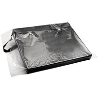 Choice 24 inch x 36 inch Clear Polyethylene Layflat Bag with 6 Mil Thickness - 100/Case