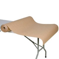 40 inch x 300' 60# Brown Paper Roll Table Cover