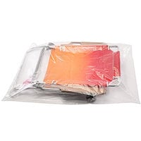 Choice 24 inch x 30 inch Clear Polyethylene Layflat Bag with 1 Mil Thickness - 500/Case