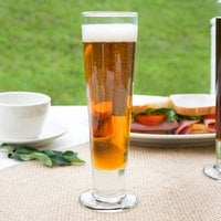 Libbey 3823 Catalina 14 oz. Customizable Tall Footed Pilsner Glass - 24/Case