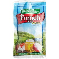 Hidden Valley 1.5 oz. Fat Free French Dressing with Honey Packet - 84/Case