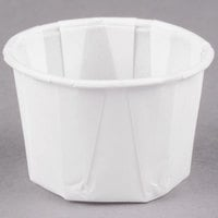 Solo 125-2050 1.25 oz. Paper Souffle / Portion Cup - 5000/Case