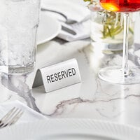 Tabletop Tents Cards Wholesale At Webstaurantstore