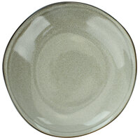 International Tableware LU-3-AS Luna 20 oz. Ash Porcelain Rim Pasta / Soup Bowl - 12/Case