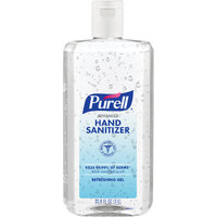 Purell® 9683-04 1 Liter Advanced Hand Sanitizer Refreshing Gel Flip Cap Bottle - 4/Case