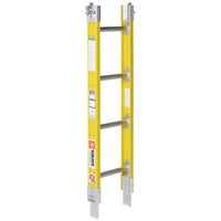 Bauer Corporation 33304 333 Series Type 1A 4' Add-On Parallel Rail Sectional Ladder - 300 lb. Capacity - 12 inch Wide