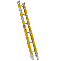 Bauer Corporation 33336 333 Series Type 1A 6' Add-On Parallel Rail Sectional Ladder - 300 lb. Capacity - 17 3/4 inch Wide
