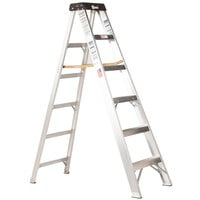 Bauer Corporation 20104 201 Series Type 1A 4' Aluminum Step Ladder - 300 lb. Capacity