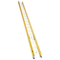 Bauer Corporation 31540 315 Series Type 1A 40' Yellow Fiberglass Extension Ladder - 300 lb. Capacity