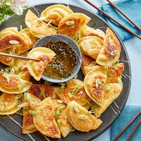 Maple Leaf Farms 1.2 oz. Duck Bacon and Sweet Corn Wontons - 100/Case