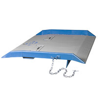 Bluff Manufacturing 20CR8460 CR Series 84 inch x 60 inch Steel Container Ramp - 20,000 lb. Capacity