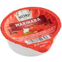 Heinz 2 oz. Marinara Sauce Portion Cups - 60/Case