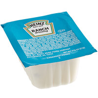 Heinz 0.75 oz. Ranch Dressing Portion Cups - 100/Case