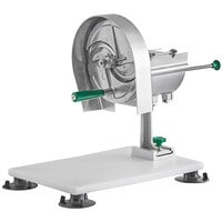 Garde ROTOKIT 1/8 inch to 1/2 inch Adjustable Fruit / Vegetable Rotary Slicer with Portable Mounting Base