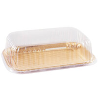 Novacart 2025-4009-030 8 inch x 11 3/16 inch Clear PET Pastry Tray Lid   - 200/Case