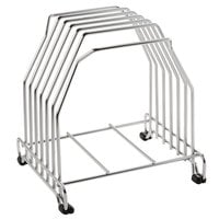 San Jamar KLRST 6-Board Cutting Board Storage Rack