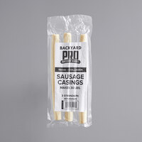 Backyard Pro Butcher Series 19mm Collagen Sausage Casing - Makes 30 lb.