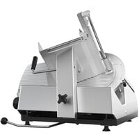 Bizerba GSP HD STD-90-GVRB 13 inch Heavy-Duty Automatic Gravity Feed Meat and Cheese Slicer - 1/2 hp