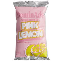 DominAde 21.6 oz. Pink Lemon Drink Mix   - 12/Case