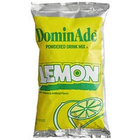 DominAde 21.6 oz. Lemon Drink Mix   - 12/Case