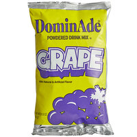 DominAde 21.6 oz. Grape Drink Mix   - 12/Case