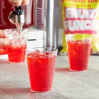 DominAde 21.6 oz. Fruit Punch Drink Mix   - 12/Case