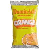 DominAde 21.6 oz. Orange Drink Mix   - 12/Case