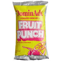DominAde 21.6 oz. Fruit Punch Drink Mix