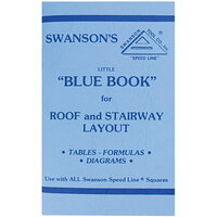 "Swanson P0110 Little ""Blue Book"" of Instructions for Roof and Stairway Layout"