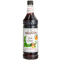Monin 1 Liter Premium Irish Cream Flavoring Syrup